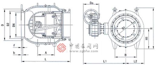 活塞式流量调节阀结构图