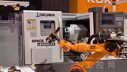 机床制造企业与工业机器人