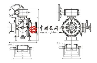 清管阀是在固定式球阀结构原理基础上改进和增加功能后创新设计的图片