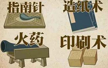 古老中国四大发明