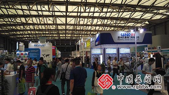 第九届中国(上海)国际石油化工技术装备展览会现场
