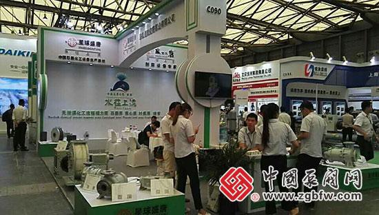 安徽星球盛唐有限公司亮相第九届中国(上海)国际石油化工技术装备展览会