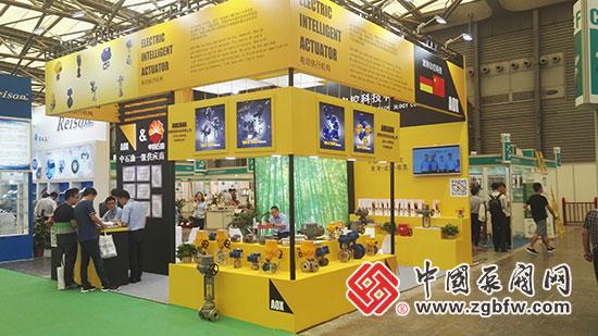 浙江澳翔自控科技有限公司亮相第九届中国(上海)国际石油化工技术装备展览会