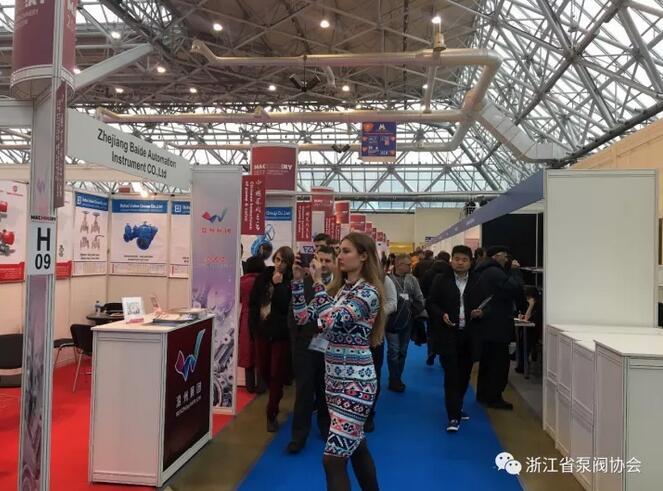 2017中国机械工业(俄罗斯)品牌展泵阀专区