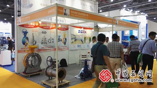 科科阀门实业有限公司参加2018 FLOWTECH广东国际泵管阀展