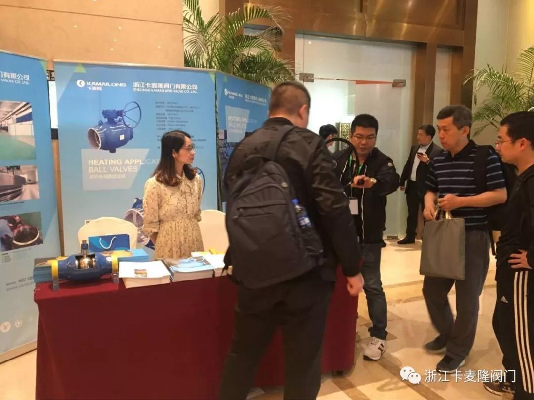 浙江卡麥隆閥門有限公司與行業專家現場交流