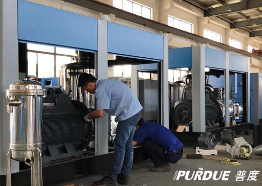 科技引领发展 上海普度打造新型无油螺杆压缩机