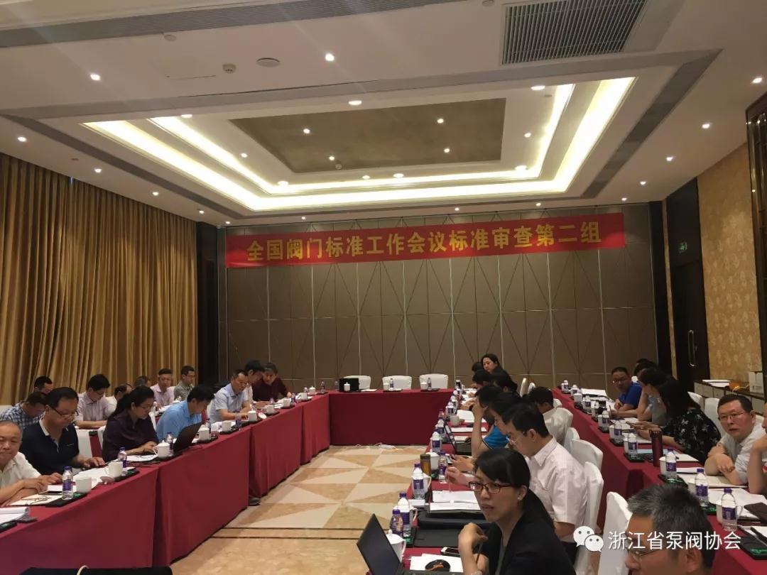 全国阀门标准工作会议分组讨论审查《低温阀门 技术条件》等6项标准