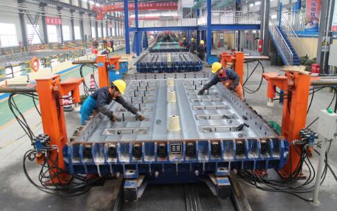国内首创高铁CRTS|||型板流水机组法科研项目通过验收