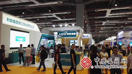 利欧集团浙江泵业有限公司亮相2018第七届FLOWTECH CHINA 上海国际泵管阀展