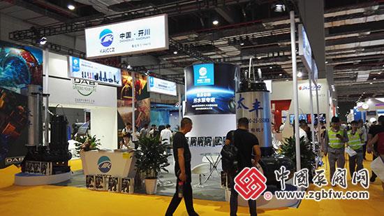 开川亮相2018第七届FLOWTECH CHINA 上海国际泵管阀展