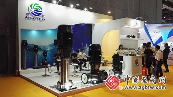 南元泵业亮相2018第七届FLOWTECH CHINA 上海国际泵管阀展