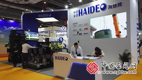 海德隆亮相2018第七届FLOWTECH CHINA 上海国际泵管阀展