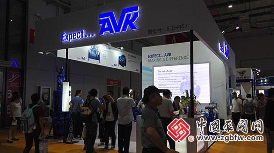 丹麦AVK亮相2018第七届上海国际泵管阀展