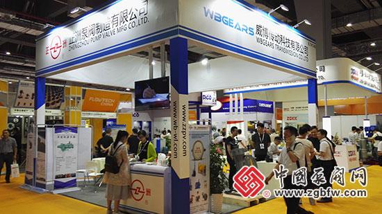 正洲泵阀制造有限公司参加2018第七届上海国际泵管阀展