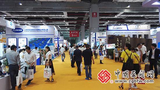2018第七届FLOWTECH CHINA 上海国际泵管阀展现场