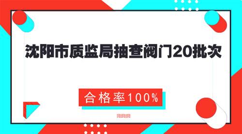 辽宁沈阳抽查20批次<b>阀门</b>产品 合格率100%