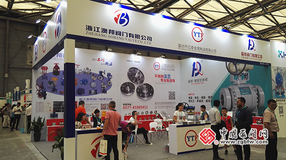 龙湾阀门企业组团亮相2018cippe第十届上海国际石油化工技术装备展览会