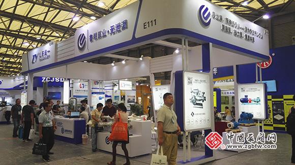 鲁明泵业参加第十届上海国际石油化工技术装备展览会