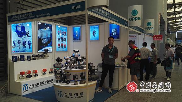 上海佑建自控设备有限公司参加第十届上海国际石油化工技术装备展览会