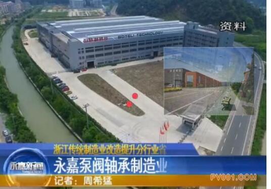 浙江传统制造业改造提升分行业省级试点永嘉泵阀轴承制造业入选
