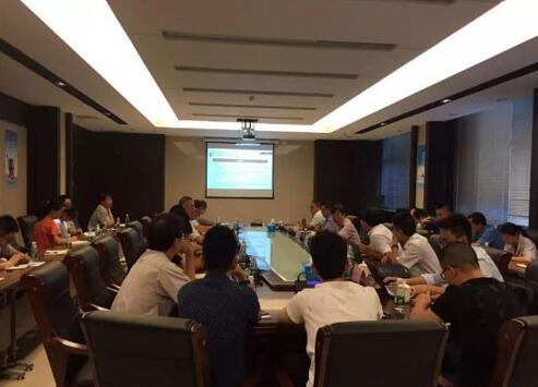 """中广核工程公司""""华龙一号""""项目组莅临江苏神通考察指导产品生产进度"""