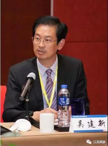 江苏神通阀门股份有限公司董事长、党委书记吴建新