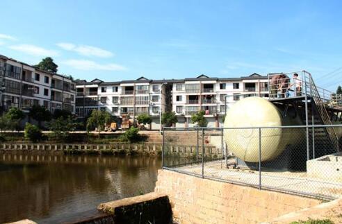 重庆市铜梁乡村建起10多个污水处理站