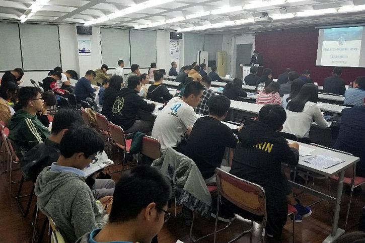 集团公司党委副书记孙智勇与上海交通大学学子交流