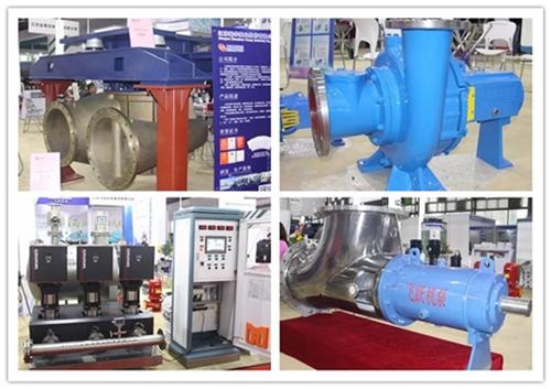 江蘇泵協11家名企精彩亮相2018第九屆中國(上海)國際流體機械展覽會