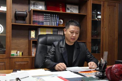 鼎梁消防董事长梁洪刚:做世界一流的消防产品