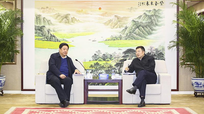 国机集团张晓仑会见海南省国资委主任倪健一行