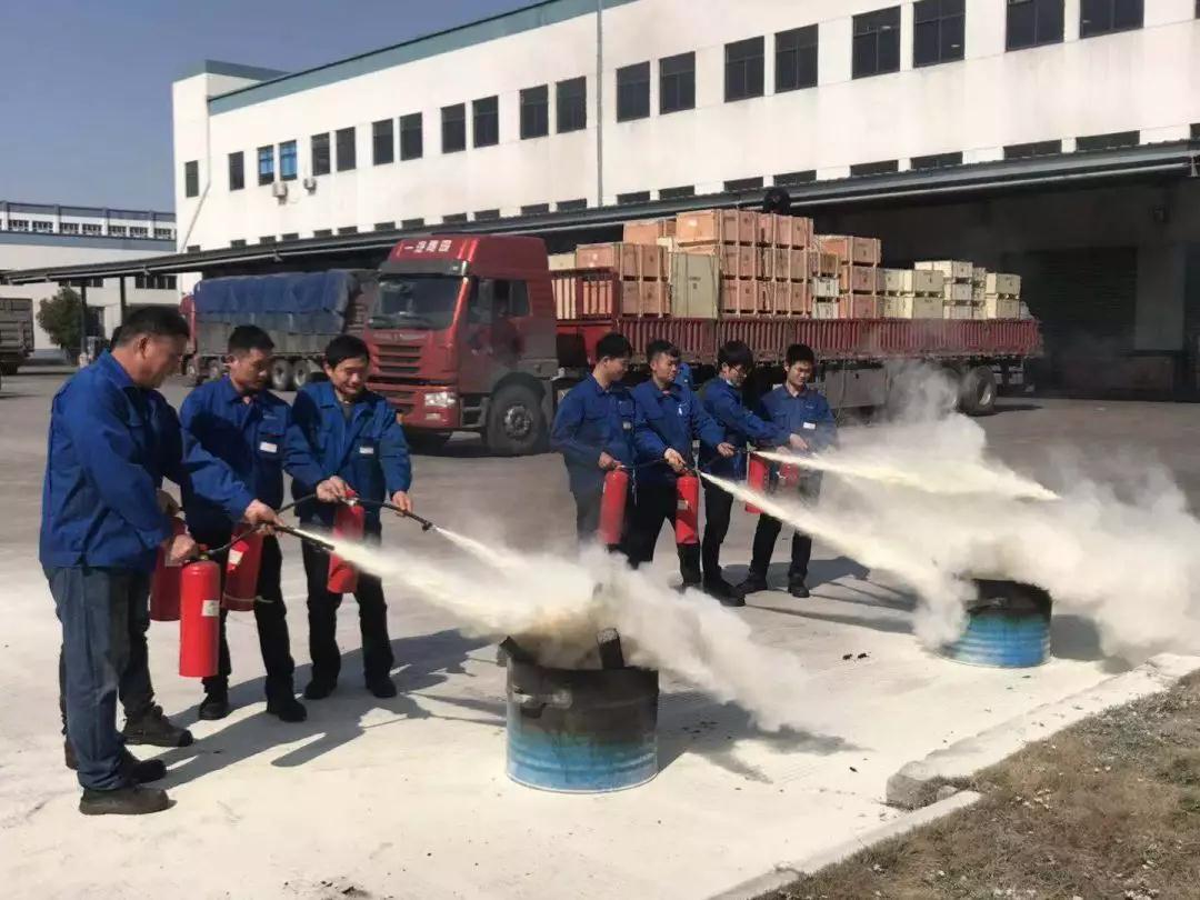 南方泵业五工厂实战消防演练
