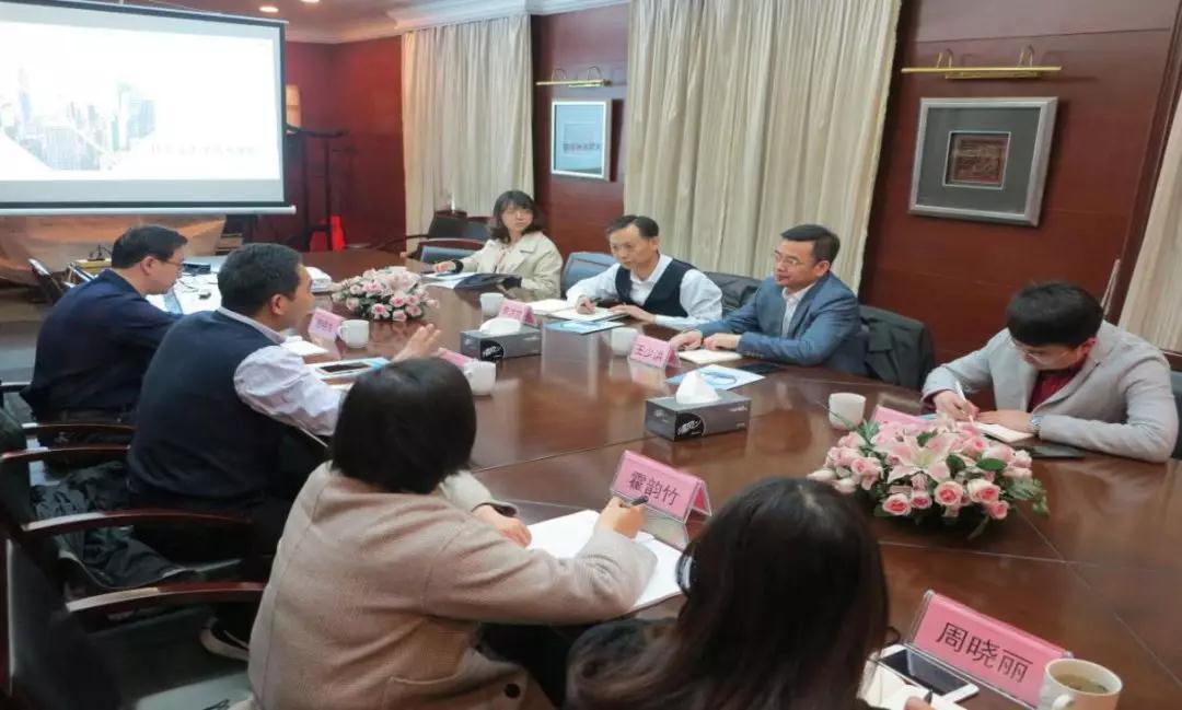 核工业大学校长王少洪、苏阀公司一行到苏州学院调研指导工作