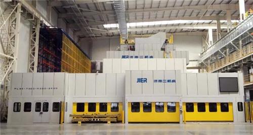 为吉利张家口基地提供的7300吨大型冲压生产线