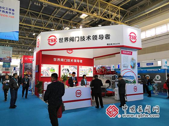 潜克斯阀门参加cippe2019第十九届中国国际石油石化技术装备展览会