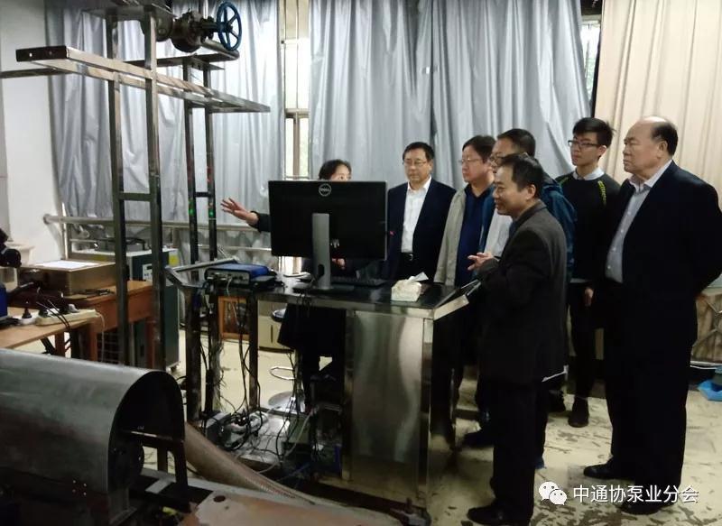 中通協泵業分會領導調研走訪浙江豐球克瑞泵業有限公司等