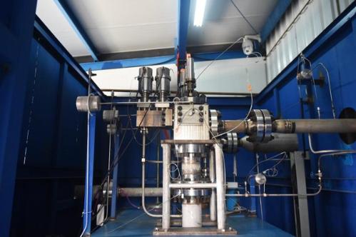 中核集团中国核动力院自主研制的华龙一号稳压器先导式安全阀样机