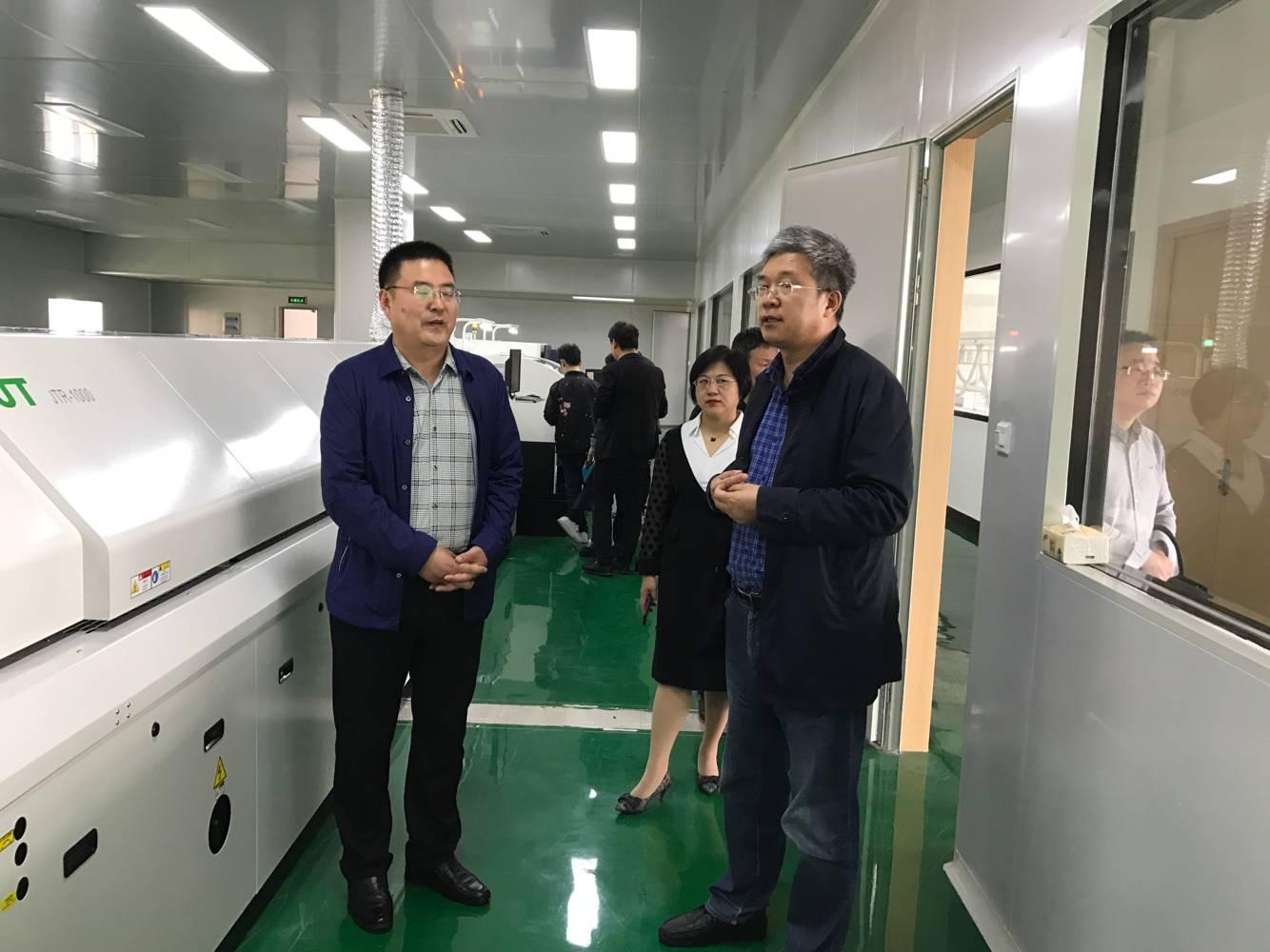 温州泵阀工程研究院走访温州大学激光与光电智能制造研究院