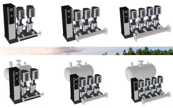 第五代全变频供水设备