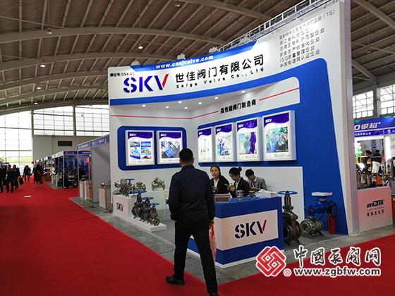 世佳阀门有限公司参加中国东北国际泵阀、管道、清洁设备机电展览会