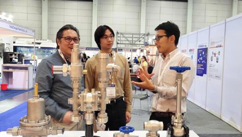 川力机械携超低温阀门亮相泰国机械工业展