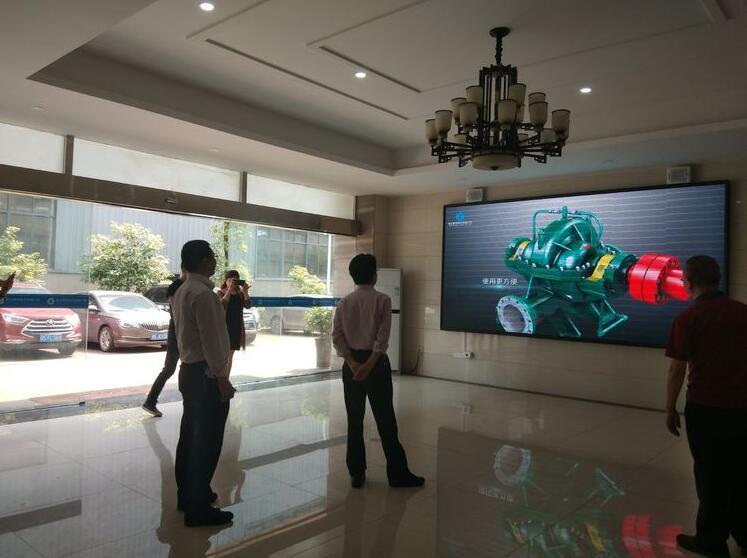 四川省商务厅发展贸易处处长张继朋一行到新达泵阀调研