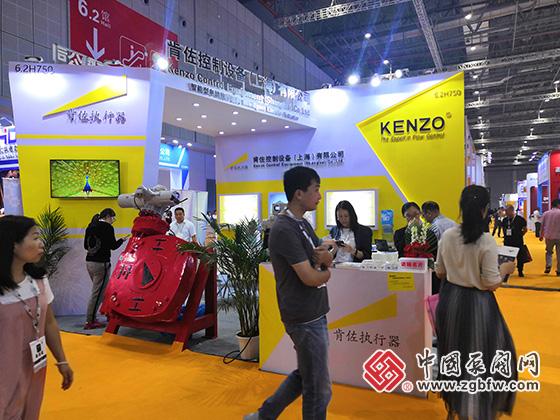 肯佐控制设备参加2019第八届上海国际泵管阀展览会