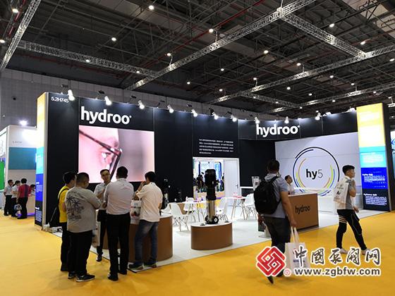 hydroo参加2019第八届上海国际泵管阀展览会
