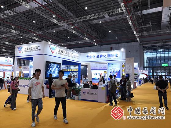 上海沪工阀门厂(集团)有限公司参加2019第八届上海国际泵管阀展览会