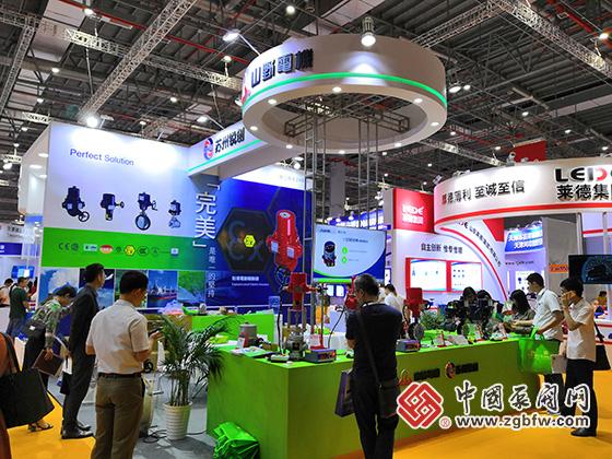 山野电机参加2019第八届上海国际泵管阀展览会