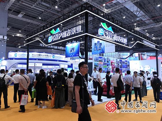 南方泵业参加2019第八届上海国际泵管阀展览会