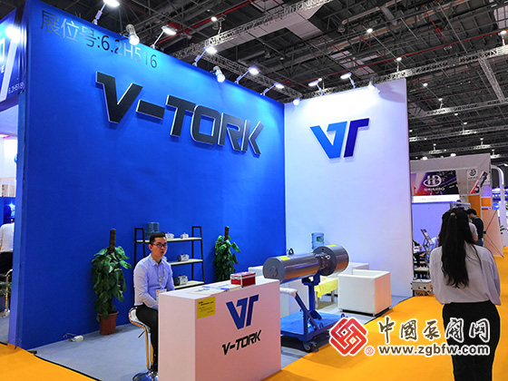 V-TORK参加2019第八届上海国际泵管阀展览会