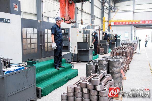 怀化珠华制造有限公司年产7000吨阀门配件